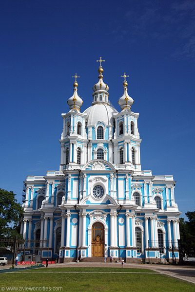 Cathedral of the Resurrection, Smolny Monastery