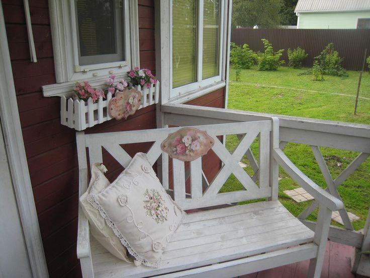 Накладки для садовой мебели.