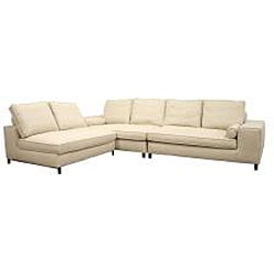 Good Reviews.Couch Ideas, Cream Sofas, Contemporary 3 Piece, Awesome Price, Foam Cushions, Arm Sofas, Living Room, Dense Foam, Left Arm