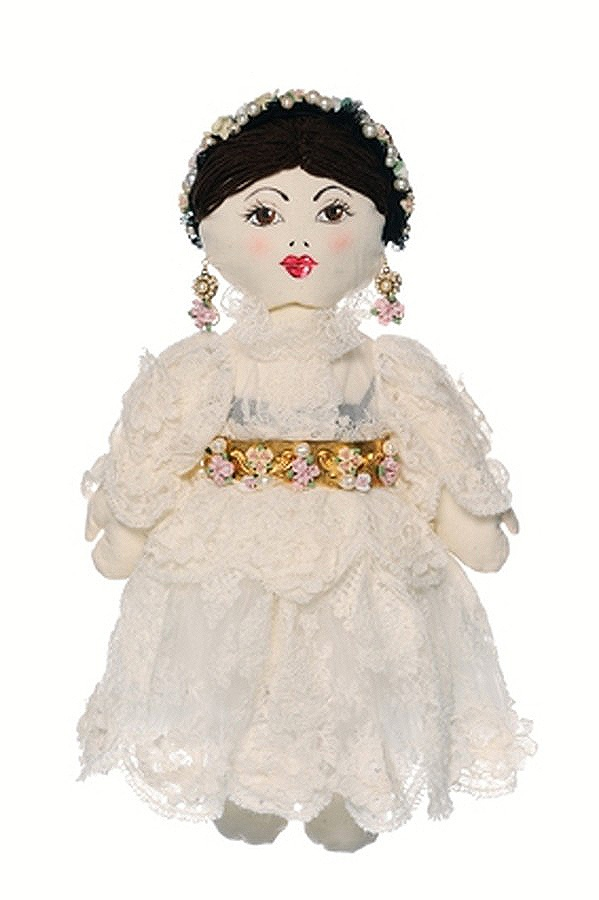 Dolce and Gabbana doll for UNICEF's Frimousses Designers for Darfur. #dolceegabbana