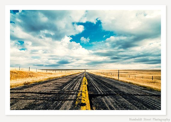 I Come From Nowhere  Landscape Photography  Open Road Photo