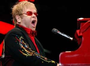 """elton john. Favorite singer of all time. When I saw him in concert, it was truly a """"bucket list"""" moment for me!"""