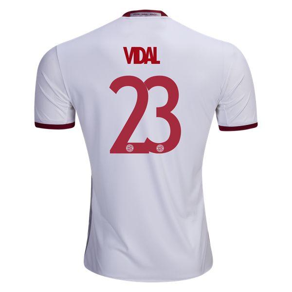 adidas Arturo Vidal Bayern Munich Third Jersey 16/17