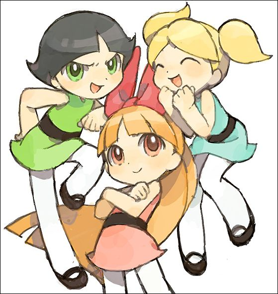 Powerpuff Girls by Puyo