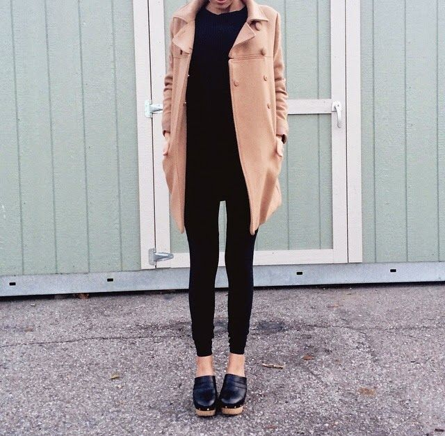 Minimal chic with clogs                                                                                                                                                                                 More