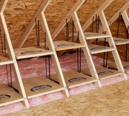Attic Flooring Diy