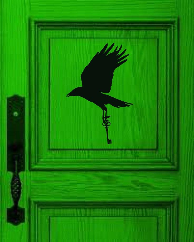 Crow with Key