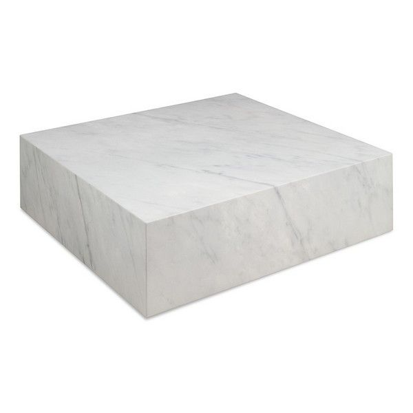 Centre Table Cube 90 X 90 X 28 Cm Marble Table Cube Table Marble Coffee Table