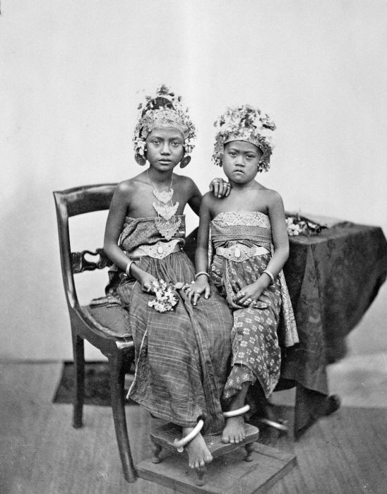 Bali, 1870, children of Goesti Djilantik