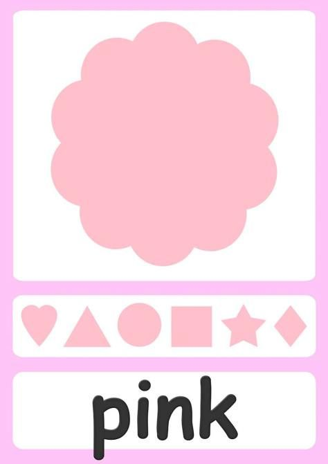 color-flashcards-pink