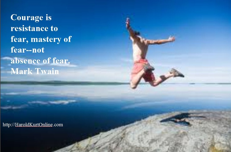 Courage is resistance to fear, mastery of fear--not absence of fear.  Mark Twain: Flash, Ideas, Living Life, Inspirational Quotes, So True, Inspiration Quotes, Watches, True Stories, Mark Twain