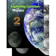 Exploring Creation with Physics 2nd Ed. 2-Book Set by Dr. Jay Wile  -  This college-prep physics course is designed for the student who has completed algebra and has had an introduction to the definitions of sine, cosine, and tangent.  -  $85.00 @apologiaworld   -For more info, see: http://shop.apologia.com/7-physics