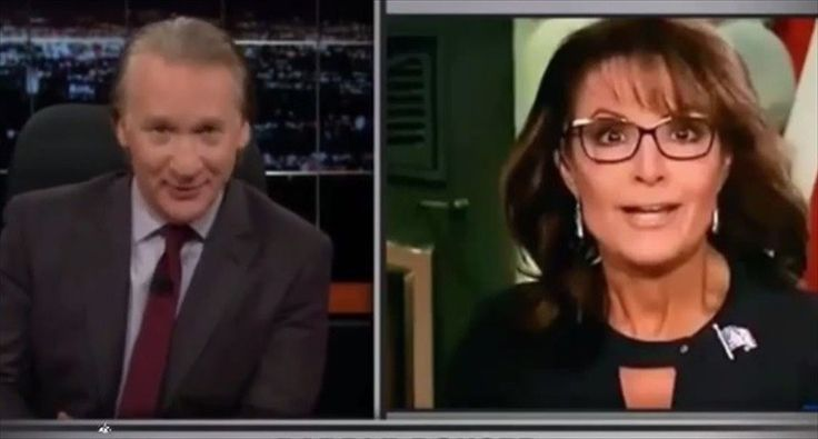 Bill Maher mocks 'incoherent' Sarah Palin for being ditched by conservatives: 'The emperor has no clues'