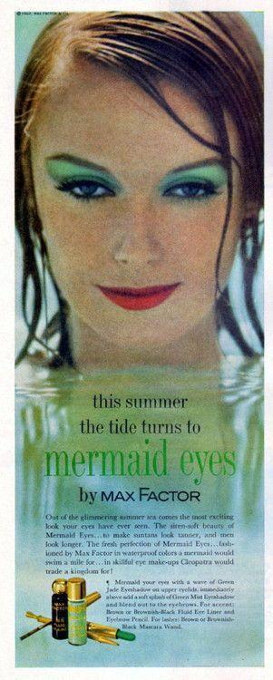Max Factor Mermaid Eyes Ad