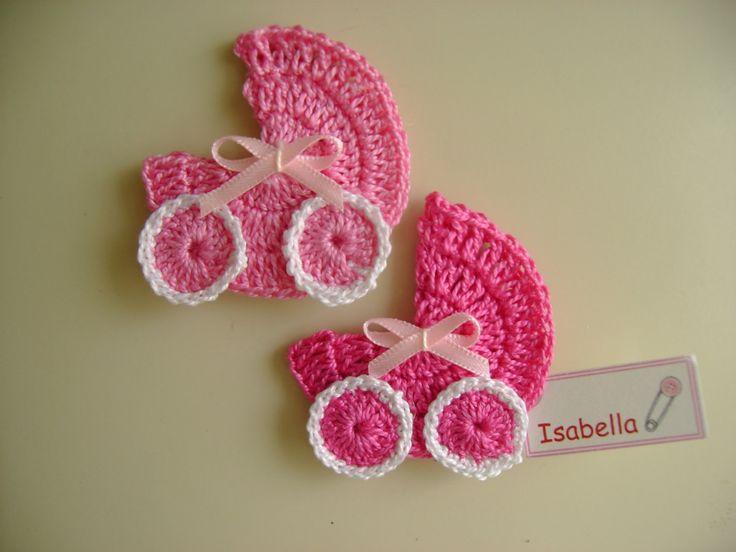 15 opciones de recuerdos para baby shower a crochet | Recuerdos ...