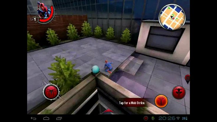 The amazing Spiderman android HP touchpad cm9 o.a.t rom only (+playlist)
