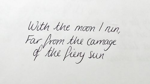 *With The Moon I Run, Far From The Carnage Of The Fiery Sun* - Kings Of Leon/Closer