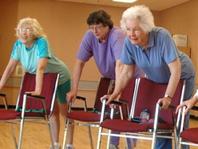 yoga for seniors is a great way to continue to use and