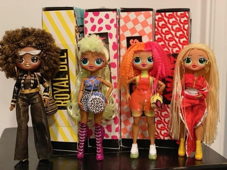Lol Surprise Omg By Mga Entertainment New Boxes Sealed Lady Diva Royal Bee Neonlicious Swag Features Details Unbox 20 Lol Dolls Fashion Dolls Lol