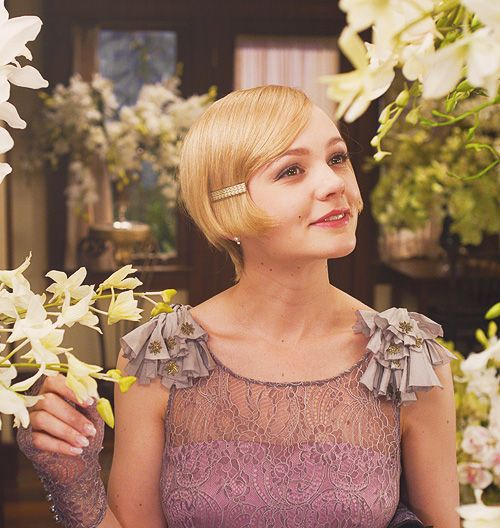 Cary Mulligan in The Great Gatsby 2013 - so inspired by her hair