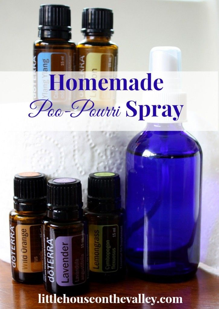 spray on pinterest toilets strength and bergamot essential oil