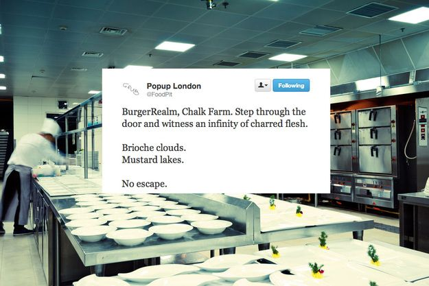 The Pop-Up Parody That Mocks PretentiousFoodies