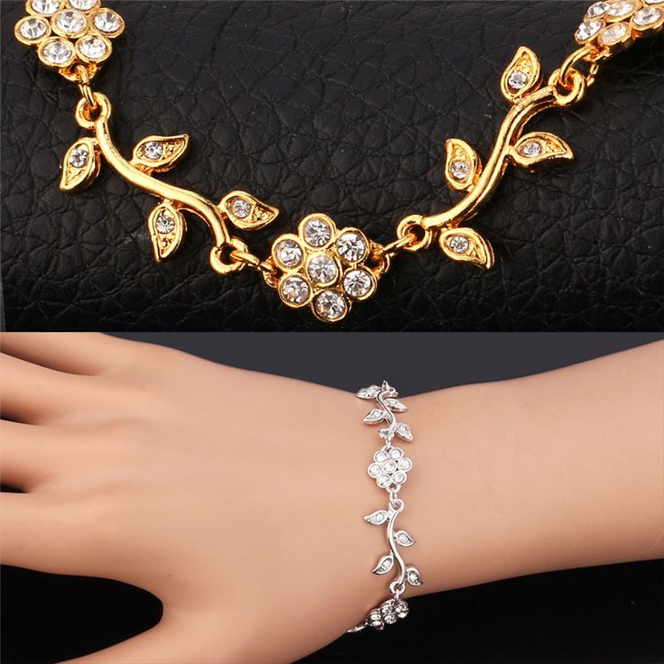 Cheap jewelry silicone, Buy Quality jewelry steam directly from China jewelry charms and beads Suppliers:                             Bracelet For Women 18K Real Gold Plated / Platinum Plated New Fashion Jewelry Charms Rh