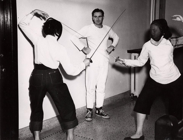 A Fencing Lesson at Brescia