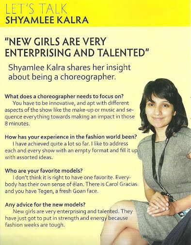SHY TALKS ABOUT HER SHOW DIRECTION METHODS