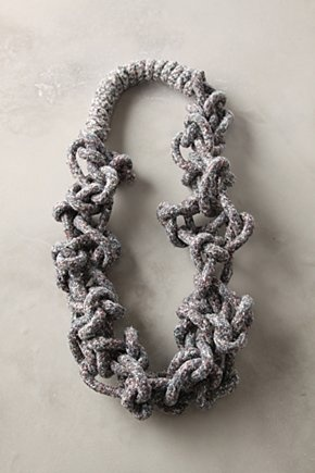 Anthropologie knot necklace