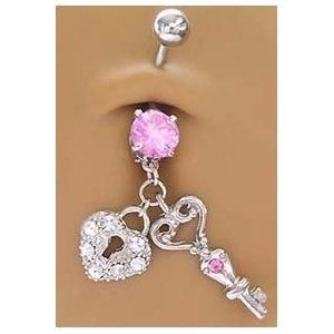 cute belly button ring - Fashion - #Belly #Button #Cute #Fashion #Ring