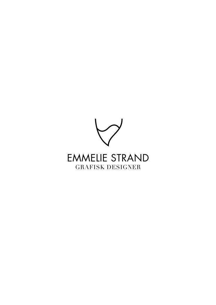 My own logotype! // Grafisk designer - Emmelie Strand