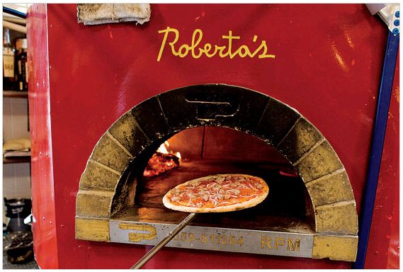 Roberta's Pizza in Brooklyn.  Supposed to be amazing...With a name like that, I can't say I'm surprised.  ;)