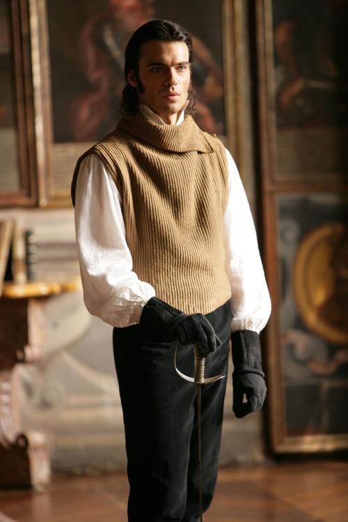 """Giulio Maria Berruti as Andrea Casalegno  - """"La figlia di Elisa - Ritorno a Rivombrosa"""" (2007)"""