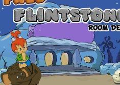 FRED FLINSTONE ROOM DECOR - FLINSTONES GAMES