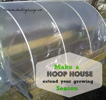 Your Fall Garden: Make a Hoop House to Extend Your Growing Season
