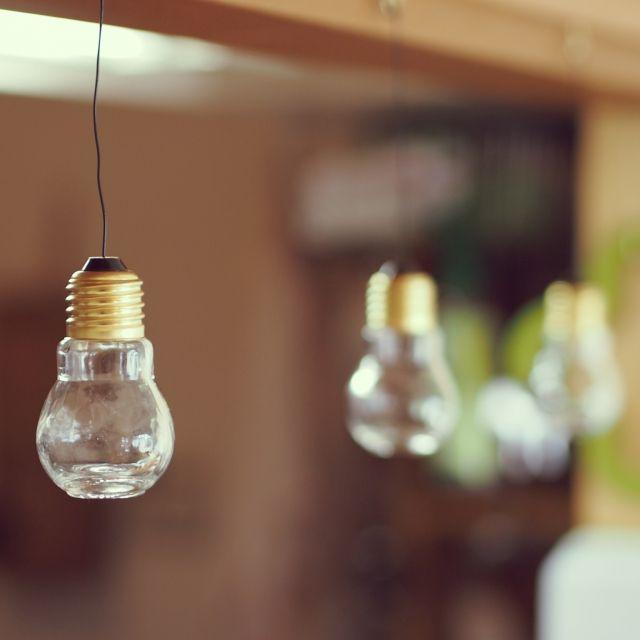 電球型瓶/無印良品 壁に付けられる家具/セリアの電球型瓶/キッチンのインテリア実例 - 2015-03-28 17:00:50 | RoomClip(ルームクリップ)