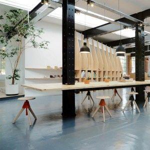 ARRO Studio creates Clarks Originals headquarters within historic warehouse