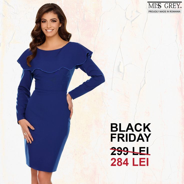 Let everyone admire you wearing a simple and refined dress now at a super friendly price! Discover the blue Lana dress in our online shop and take advantage of the Black Friday special deal!