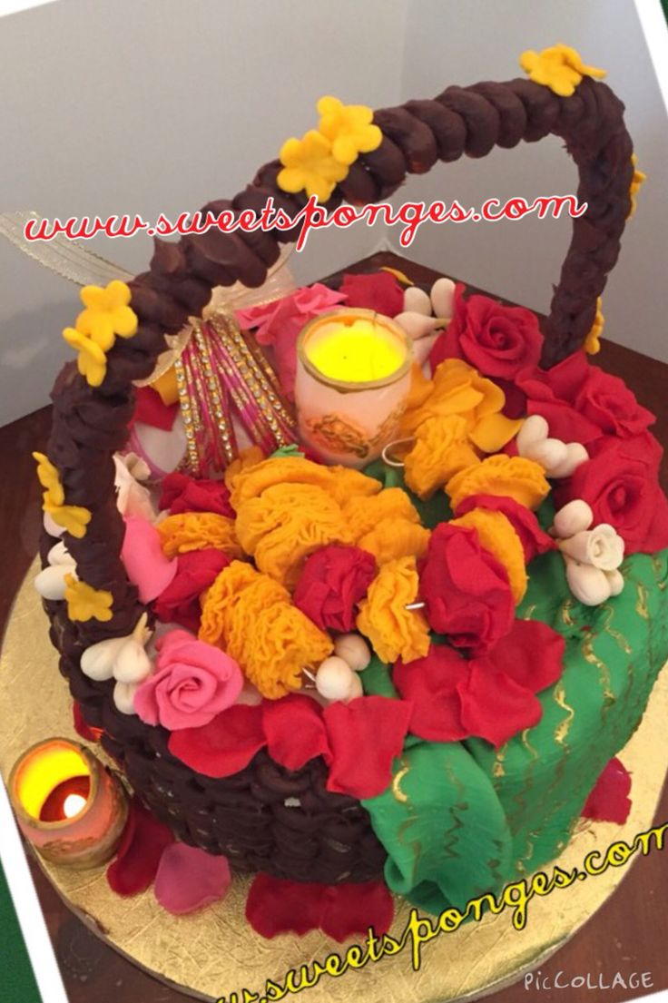Mehndi Dholki Cake : Best images about mehndi and dholki cakes on pinterest