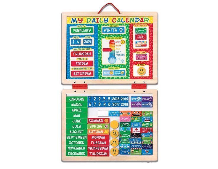 Double Time Kids Calendar : Unique magnetic calendar ideas on pinterest