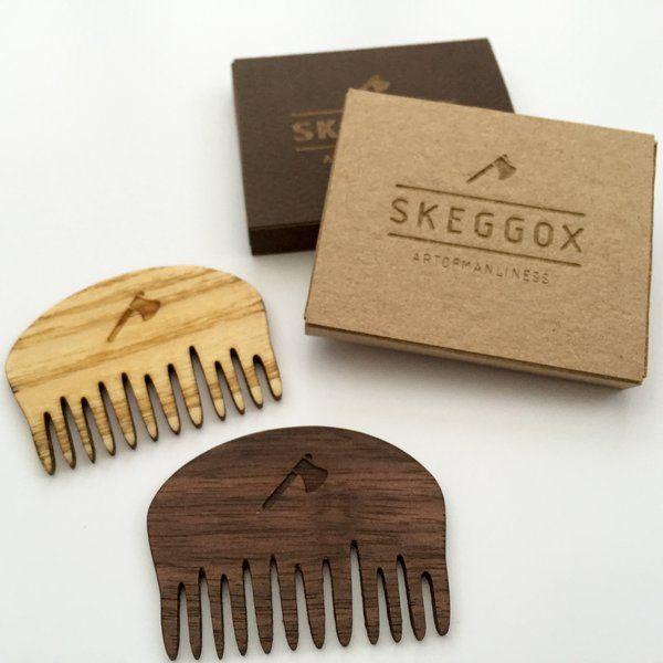 Skeggox Small Beard & Moustache Comb