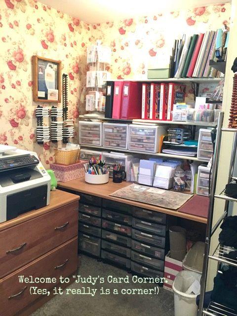 Judy Marino's craft space
