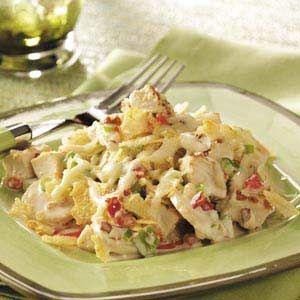 Hot Chicken Salad Recipe