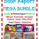 All of our most POPULAR Book Reports in one MEGA BUNDLE! 8 Projects Total at a HUGE DISCOUNT.  Book reports don't have to be that boring!   These p...