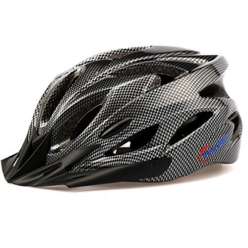 BMX Helmets - Ultralight Stable RoadMountain MensWomens Bike Helmetblack >>> Read more at the image link.