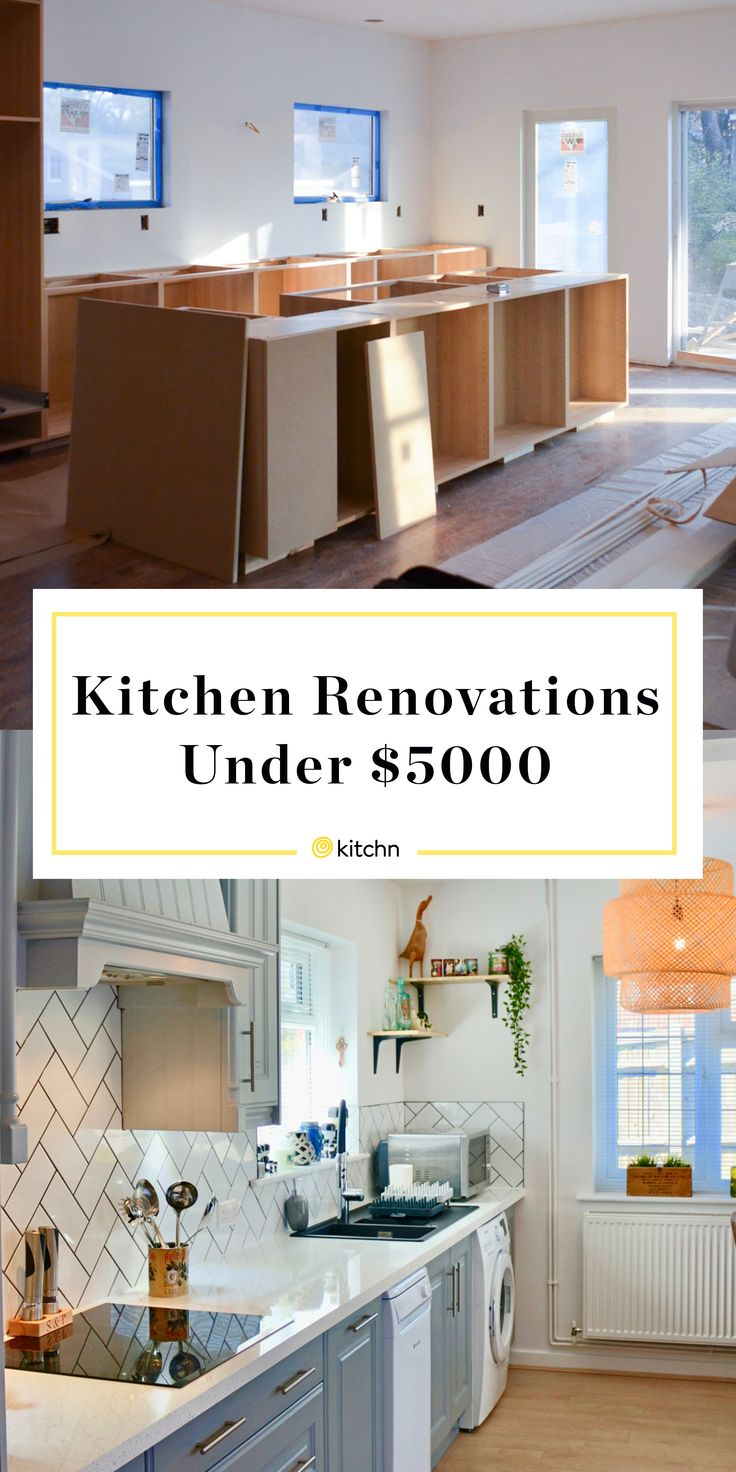 5 gorgeous kitchen renovations that cost less than 5 000 budget kitchen remodel renovation on kitchen remodel under 5000 id=45142