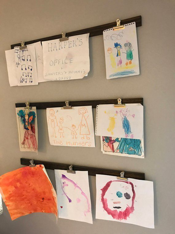 Diy Home Decor 5 Fun Ways To Hang Kid Art In Your