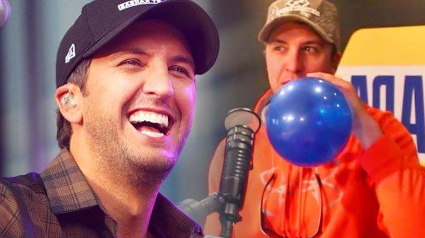 Luke Bryan Sings On Helium (The Bobby Bones Show) (VIDEO) | Country Rebel Clothing Co.
