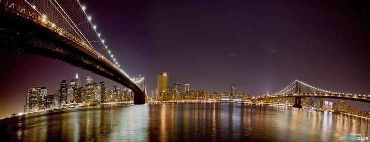 Foto: Manhattan Skyline New York, USA  #manhattan #newyork #newyorkcity #usa #unitedstates #america #city #cities #town #towns #skyline #night #nights #nightscape #cityscape #nightphotography #light #lights #longexposure #water #bridge #bridges #skyscraper #skyscrapers #panorama #panoramicview #manhattanbridge #robertomoiola #clickalpsphotographers #italyphotographers #italianphotographers #clickalpsphotography #phototravel #phototravelaroundtheworld #cityscapephotography #cityscapephotos…